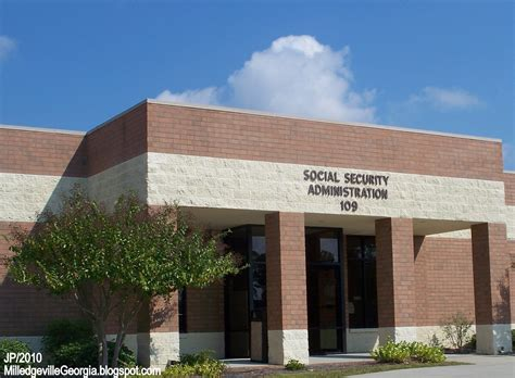 Social Security Office by Milledgeville Gcsu Gmc College Restaurant Menu