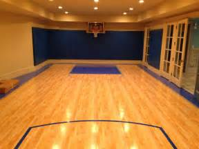 basement basketball court residential indoor indoor basketball court sportprosusa