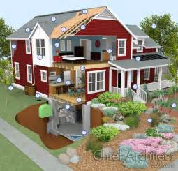 Software To Build House Green Building With Chief Architect Home Design Software