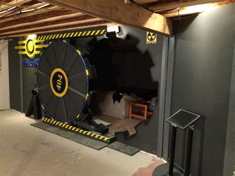 real life home design games check out this fallout inspired gaming room door gamespot