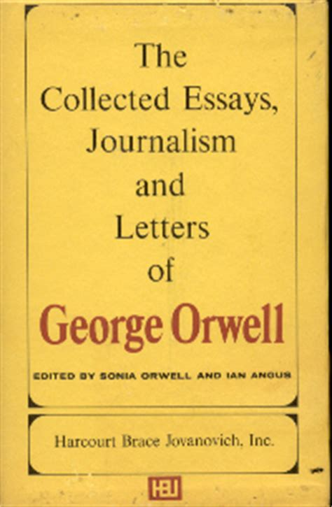 The Collected Essays Journalism And Letters Of George Orwell by Remembering George Orwell Collected Essays Journalism And