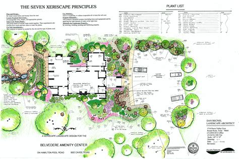Landscape Layout Landscape Plans
