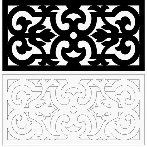 patterns free scroll saw scroll saw and fretwork vector patterns
