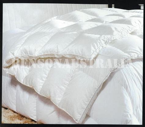 King Size Duck Feather Quilt by 80 Duck 20 Feather King Size Quilt Doona Duvet 4