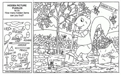 printable hidden object pictures for adults coloring pages for kids hidden picture puzzles free
