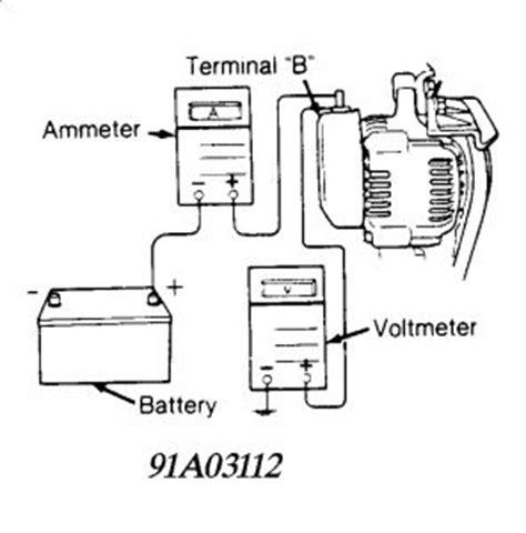 1990 daihatsu charade alternator electrical problem 1990