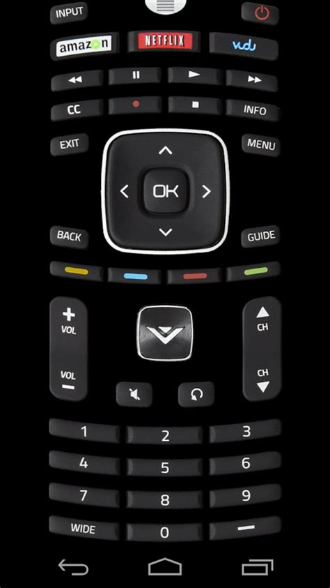vizio remote app android remote for vizio tv android apps on play