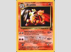 Serebii.net TCG Wizards Promos - #6 Arcanine Machamp
