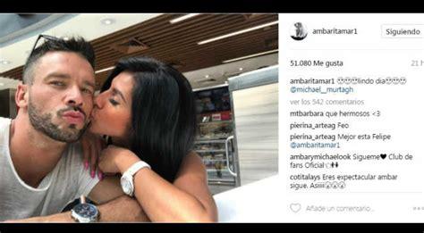 la nueva pareja de ambar montenegro farndula ecuatoriana 161 qu 233 guapo 193 mbar montenegro presenta a su novio y