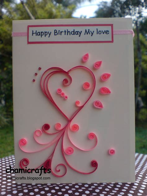 Handmade Birthday Greeting Cards For Boyfriend - handmade birthday cards for boyfriend handmade birthday cards