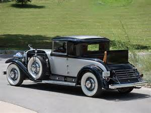 1930s Cadillac 1930 Cadillac V 16 Two Passenger Coupe By Fleetwood