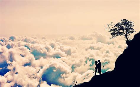 Cool Romantic Wallpaper | romantic love clouds wallpaper