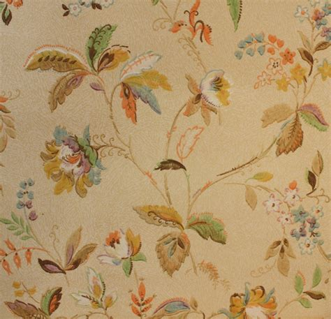 flower wallpaper etsy 1930 s vintage wallpaper antique floral by hannahstreasures