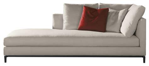 Minotti Andersen Sofa Minotti Andersen Slim Chaise Lounge Modern By Switch