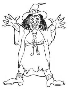 witch pictures to color witch coloring pages free printables for