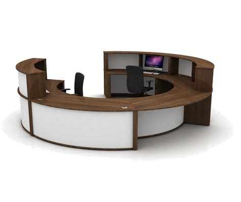 Circular Reception Desk Mobili Circular Reception Counter