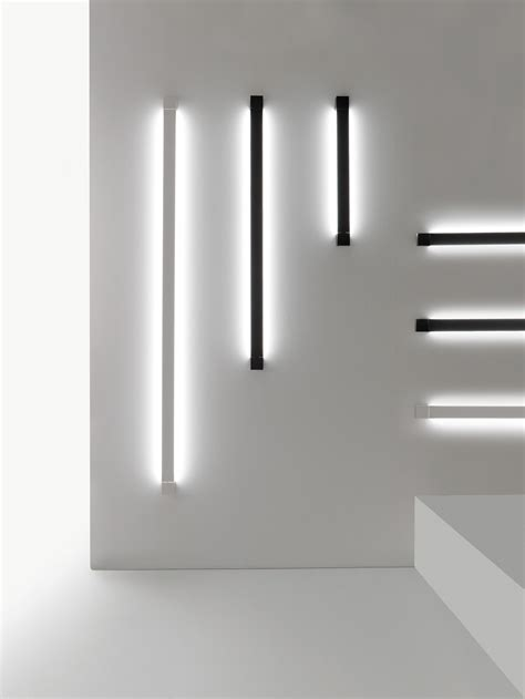 Wall Light L Pivot Led Wall Light L 61 Cm Anthracite By Fabbian