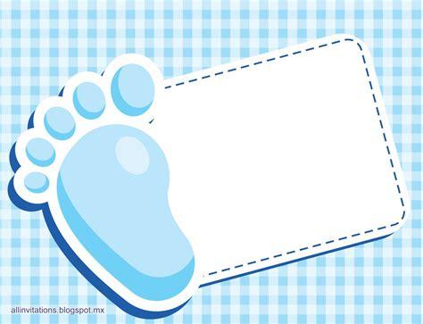 imagenes baby shower para tarjetas e invitaciones baby shower piecito de bebe all invitations
