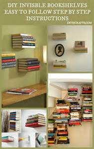 how to build invisible shelves beautiful and unique home d 233 cor diy install invisible
