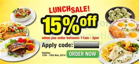 room service singapore food delivery room service food delivery 15 coupon code 12 16 nov 2014