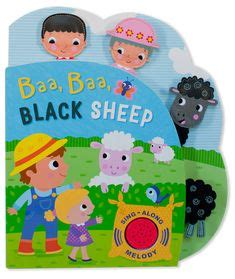 Baa Baa Black Sheep Melody Sound Board Book fundamentals kindergarten match the animal sounds free