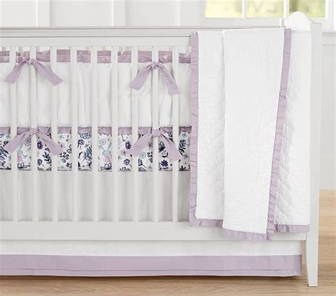 Bedcover Set 180x200x20cm Jaxine Polkadot Blue Lilac lavender nursery bedding organic owl quilt baby crib bedding blanket owl pillow purple