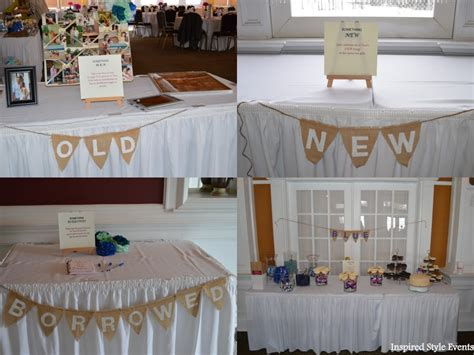 Unique Bridal Shower Theme Ideas by Something Pictures Of The Something New Gift Table Something Borrowed Guest