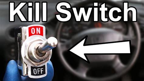 thwart car thieves    killswitch