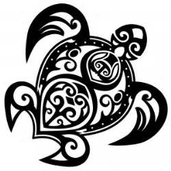 maori turtle polynesian hawaian temporary tattoo moana