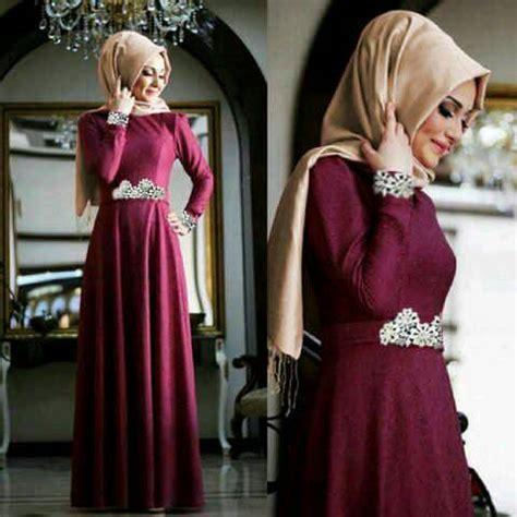 Baju Wanita Muslim Longdress Lotus Fit To gaun busana muslim cantik modern model terbaru quot putri quot