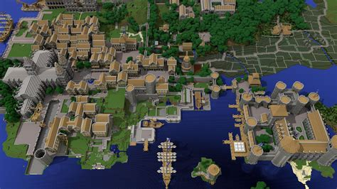 city world map minecraft some made a small city on the server i play