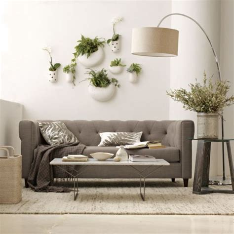 West Elm Wall Planter by Hanging Planters And Container Garden Ideas For Indoors