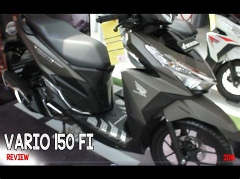 New Vario 150 Cbs Iss 2016 Brown my honda vario 125 top speed static run 135 km hour doovi
