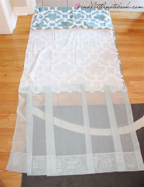 Shower Curtain Extension How I Extended My 72 Quot Shower Curtain To 96 Quot Without Sewing