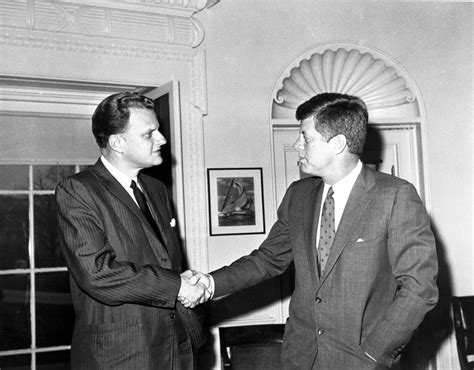 Jfk Oval Office by John F Kennedy Billy Graham Irrecoverable Moments In 1963