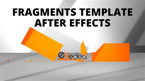 Template After Effects Gratuito Fragments Daniele Zanini Mario After Effects Template