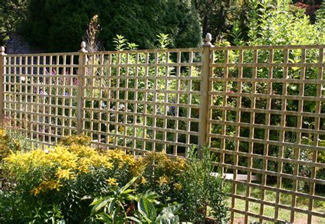 Square Trellis Fencing Square Trellis Landscaping
