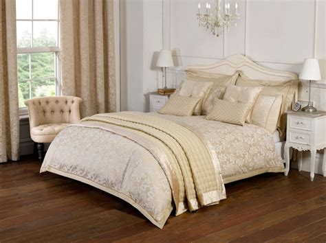 Charles Bedding by Julian Charles Blenheim Bedding In Gold Free Uk Delivery