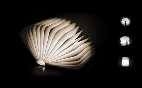 the light books lumio a portable light that folds like a book colossal
