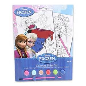 frozen paint colors disney frozen coloring paint set only 5 79 reg 9 99