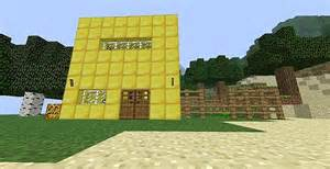House Made Of Gold minecraft house made of gold www imgarcade com online image arcade