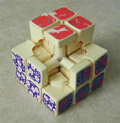 How To Make A Paper Rubik S Cube - jie qi sculpture crafts