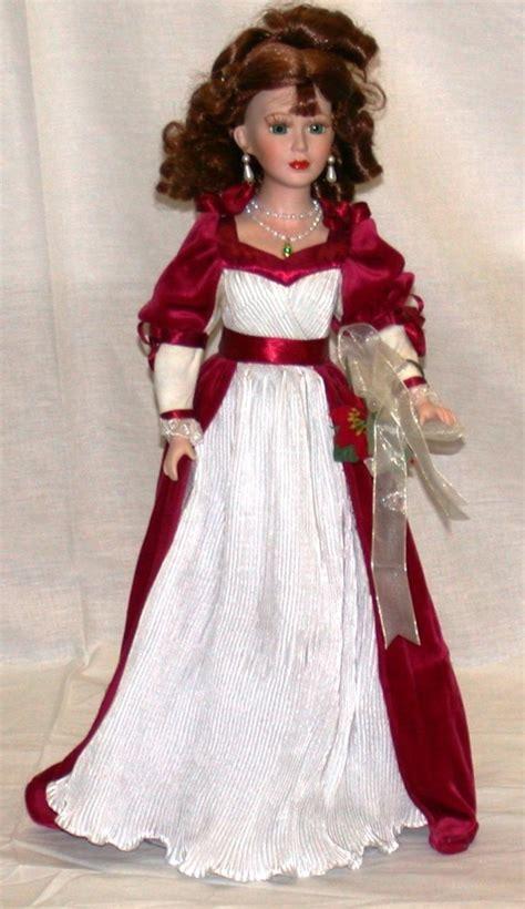 house of lloyd dolls house of lloyd porcelain doll 2001 quot christine noel quot 19 quot tall w stand ebay