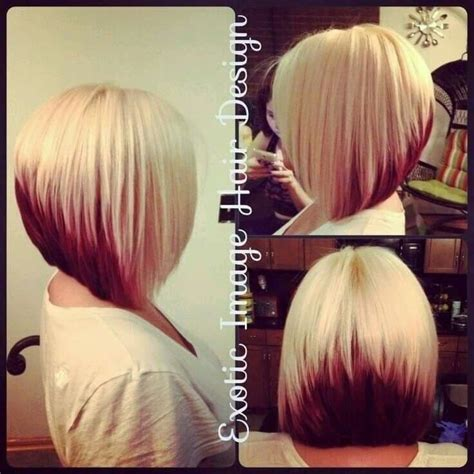 two tone bob hairstyle 16 best medium short hairstyles 2016 images on pinterest