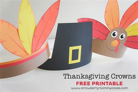 15 Thanksgiving Crafts For Kids Cutesy Crafts Turkey Hat Craft Template