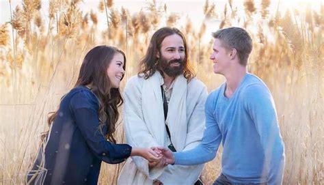And Couples Viral Post Shows White Jesus Crashing Mormon S