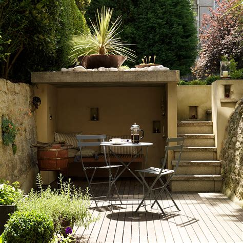 best lights for the backyard sitting area small garden ideas to make the most of a tiny space