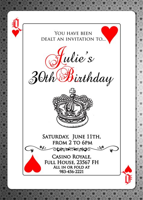 King Birthday Card Template by Cards Invitation Invite Royal Of