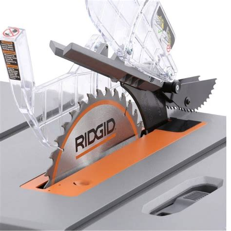 saw bench blades 15 amp 10 quot ridgid table saw compact heavy duty bench blade
