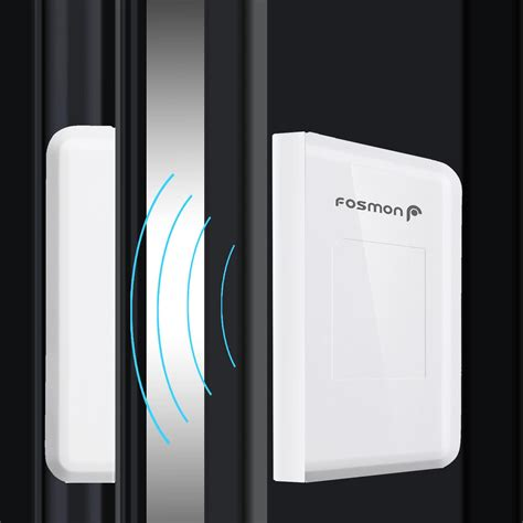 doorbell chime sensor fosmon wavelink 51004hom wireless door sensor open chime